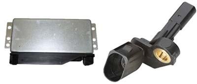 ABS Sensor und ABS Steuergerät