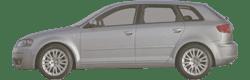 SPORTBACK vorne rechts 8P HERTH+BUSS ELPARTS Stoßstangenhalter AUDI A3